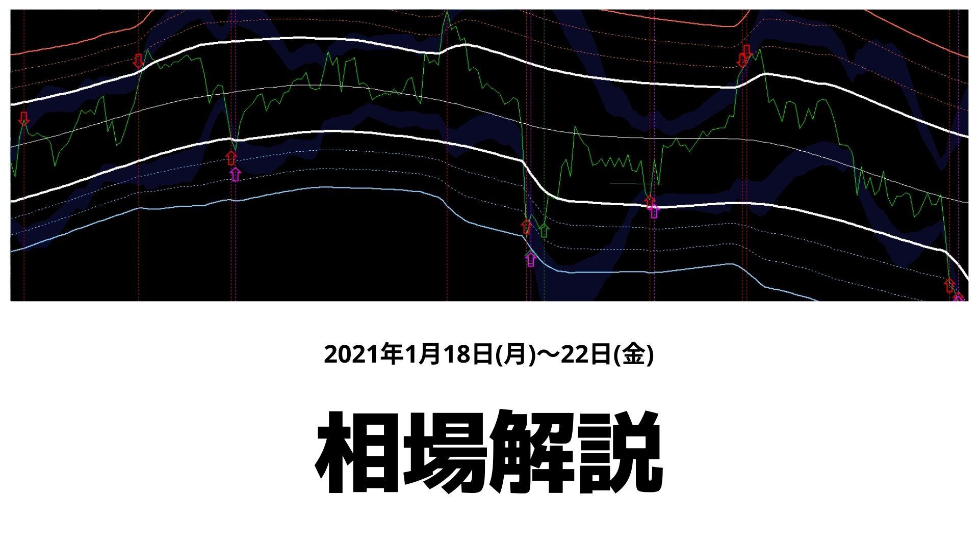 【相場解説】1/18(月)~22(金)