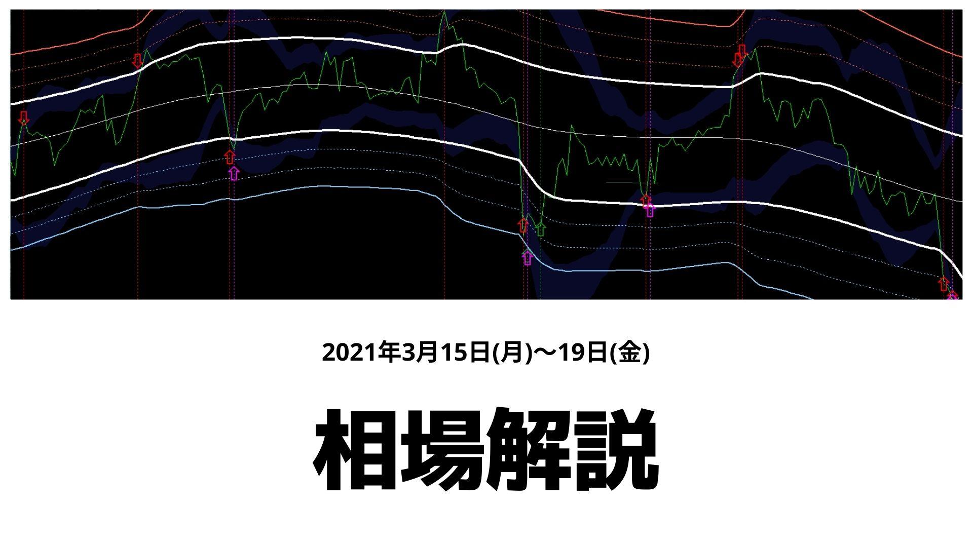 【相場解説】3/15(月)~19(金)